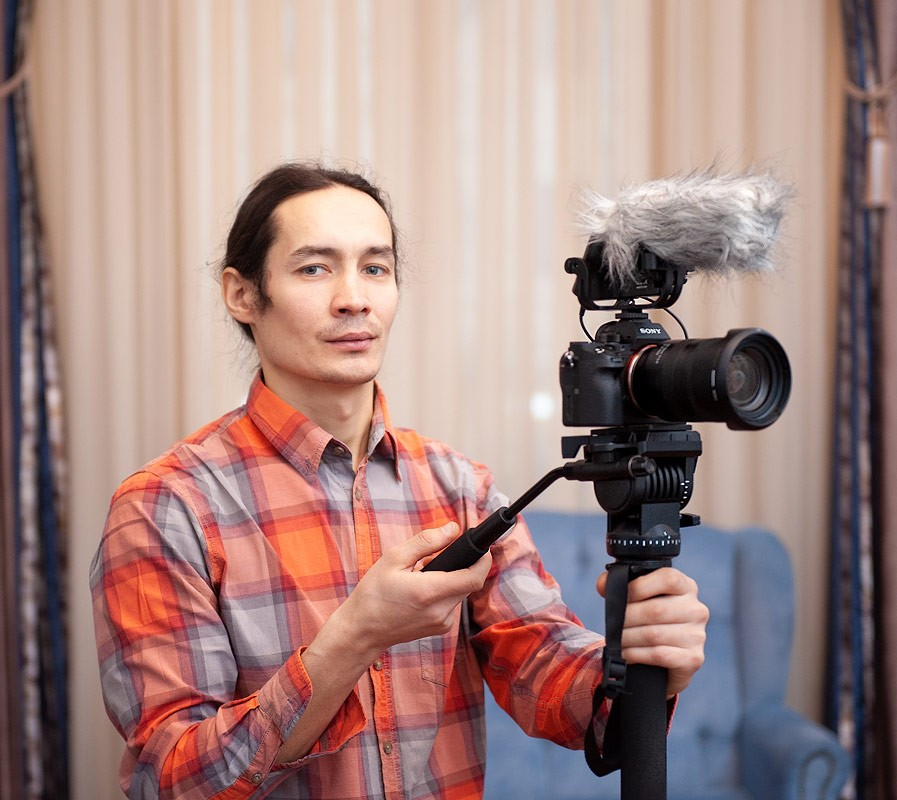 Видеооператор Андрей