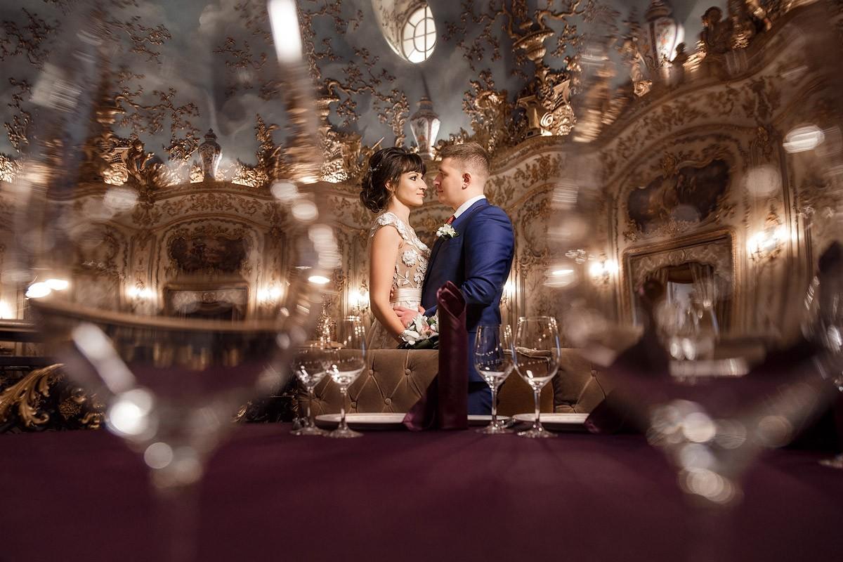 Свадебная фотосессия в ресторане Турандот