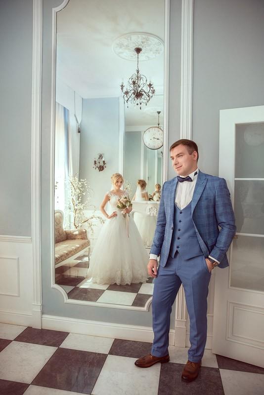 Свадебная фотосессия в студии