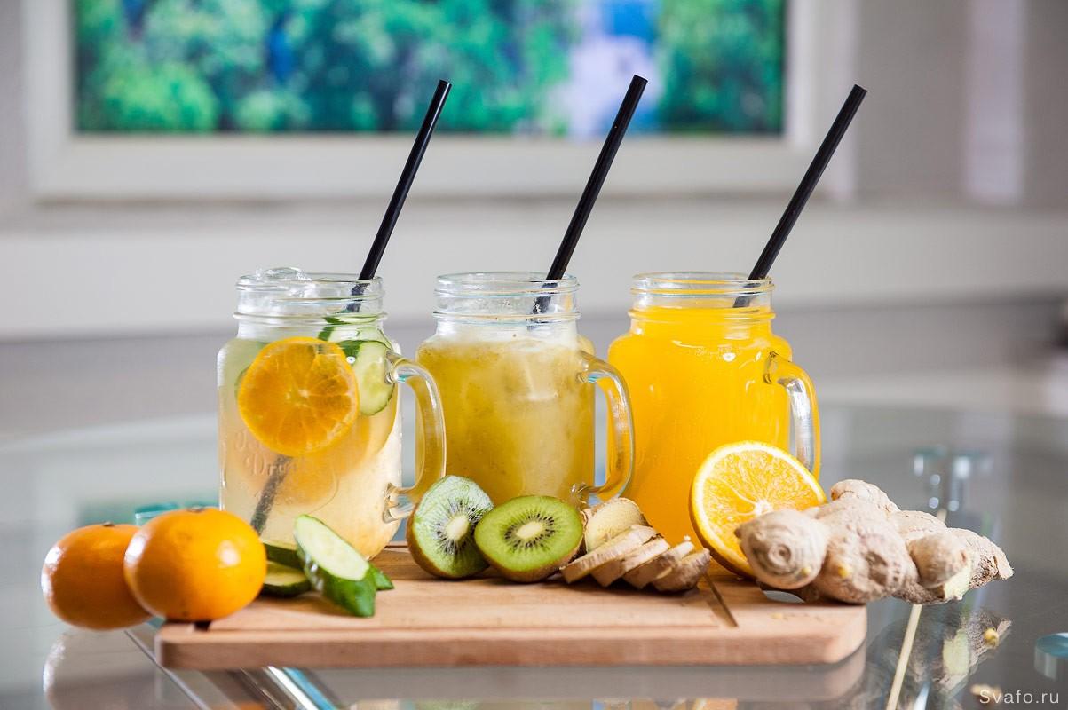 фитнес напитки фруктовые смузи — фото