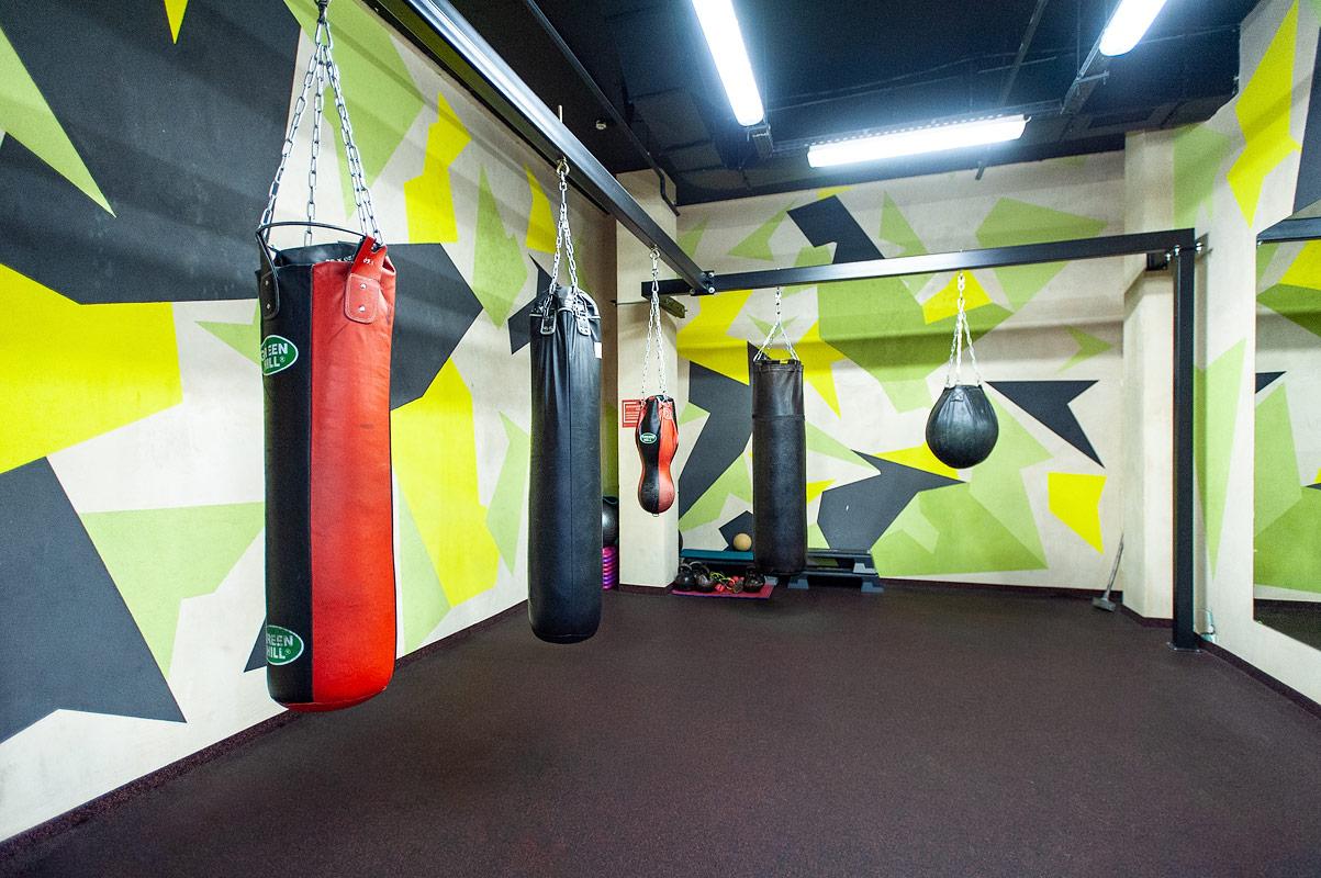 Интерьер зала боевых искусств