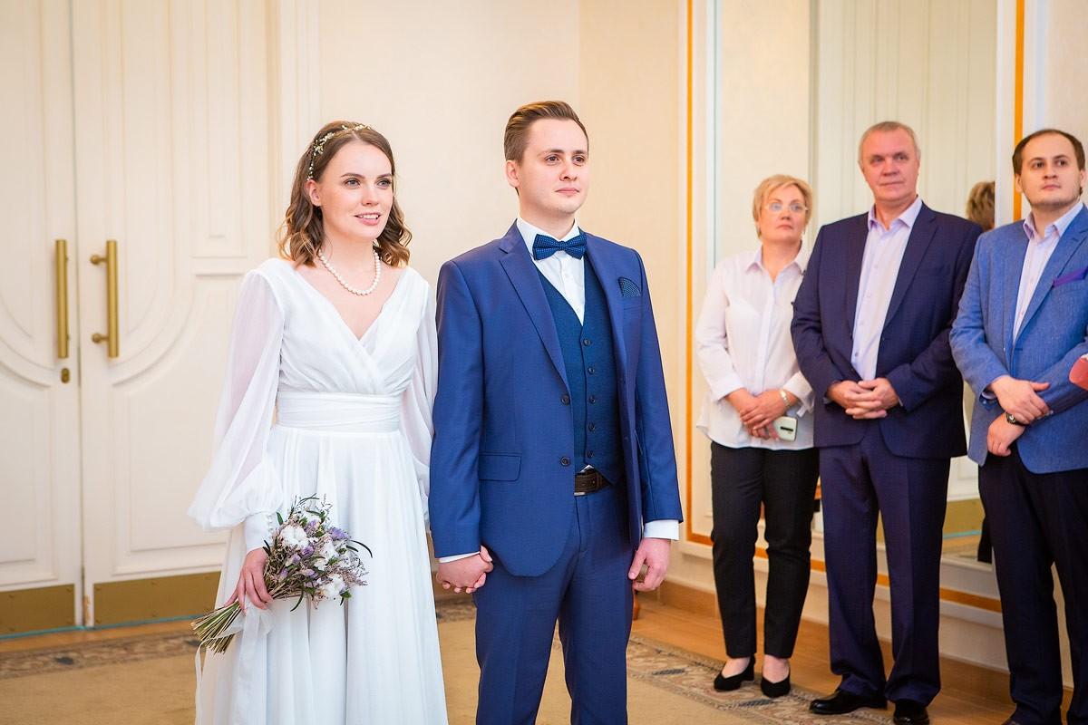 Кутузовский ЗАГС — фото торжественной регистрации брака